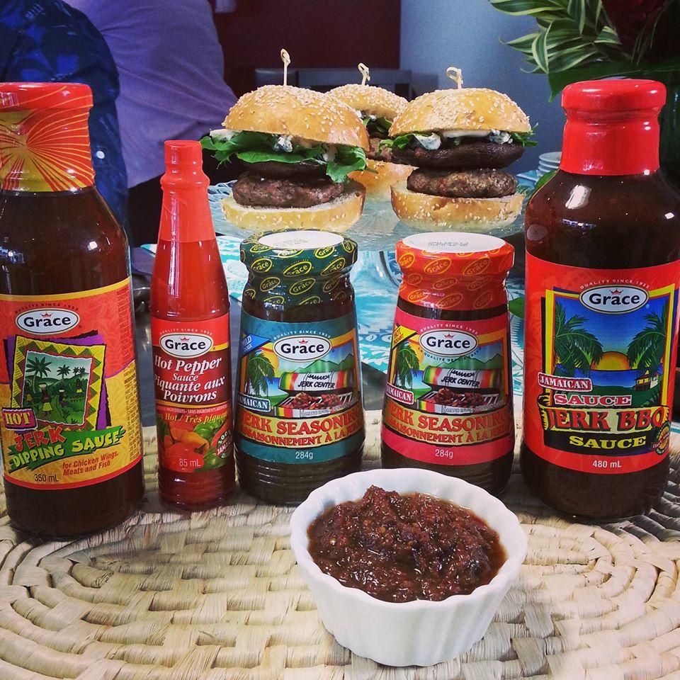 grace jerk seasoning sauces