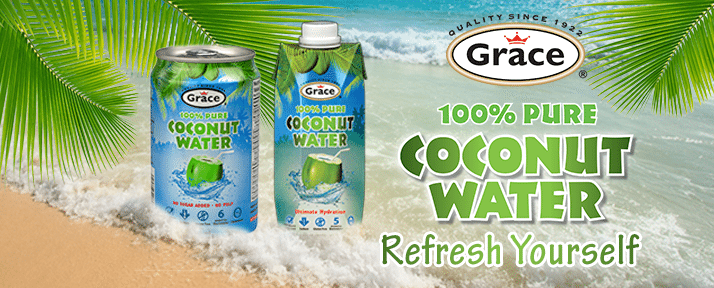 Coconut Water Banner Refresh Yourself