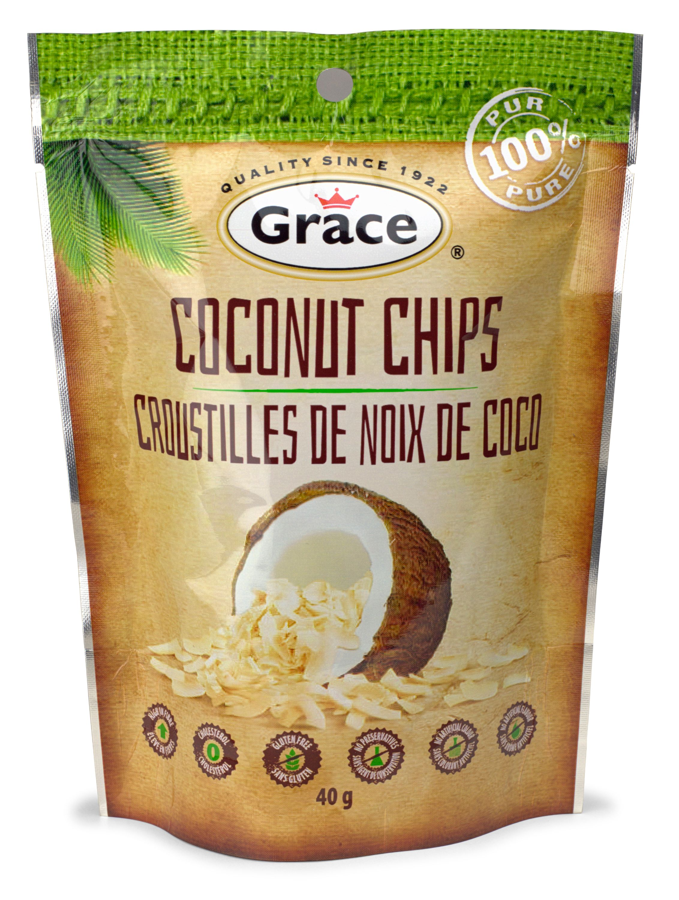 Grace All Natural Coconut Chips