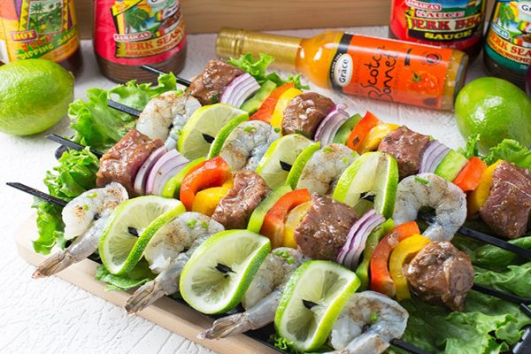 grace jerk skewers