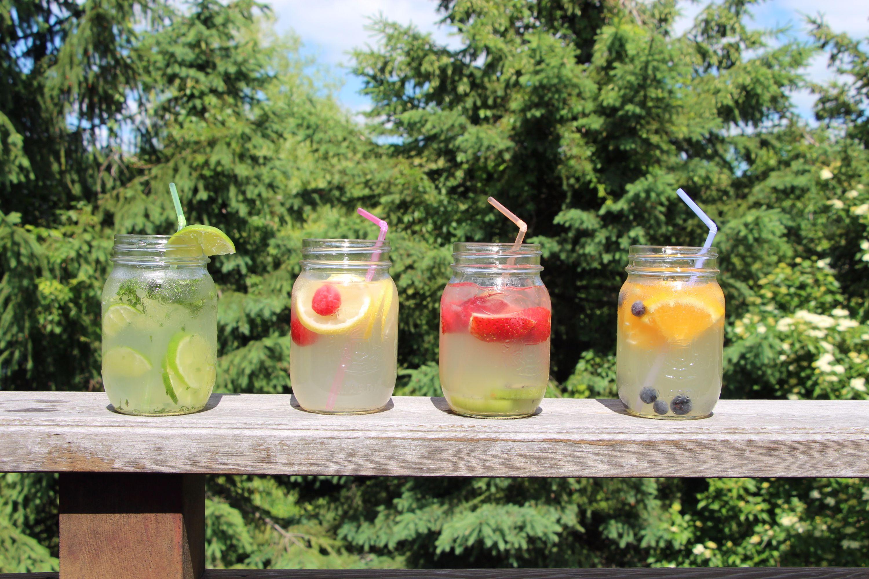 coconut water fruit cocktails