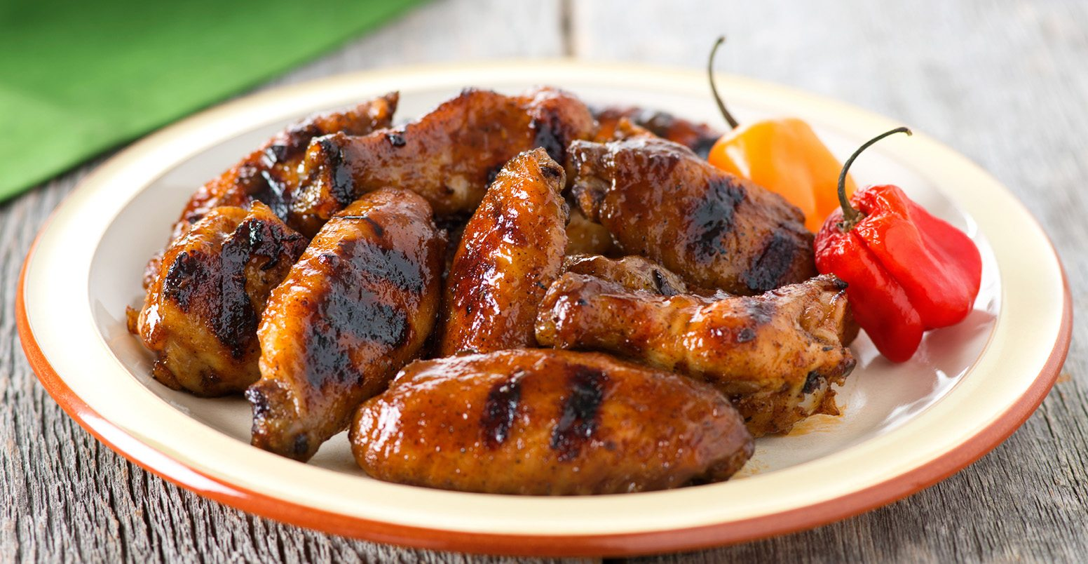 bbq jerk wings