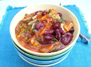 Jerk Veggie Chili