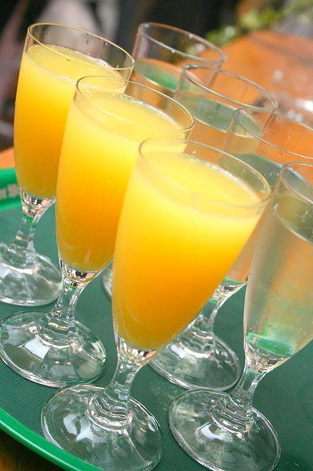 TR Pineapple Ginger Mimosas
