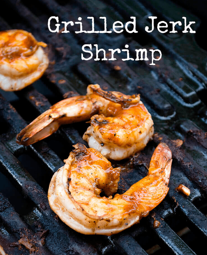 grilled jerk shrimp