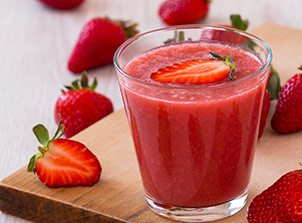 Sweet Strawberry Coconut Smoothie
