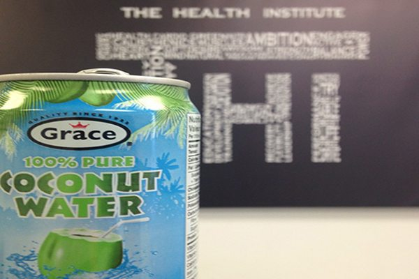 the health institute coconut water