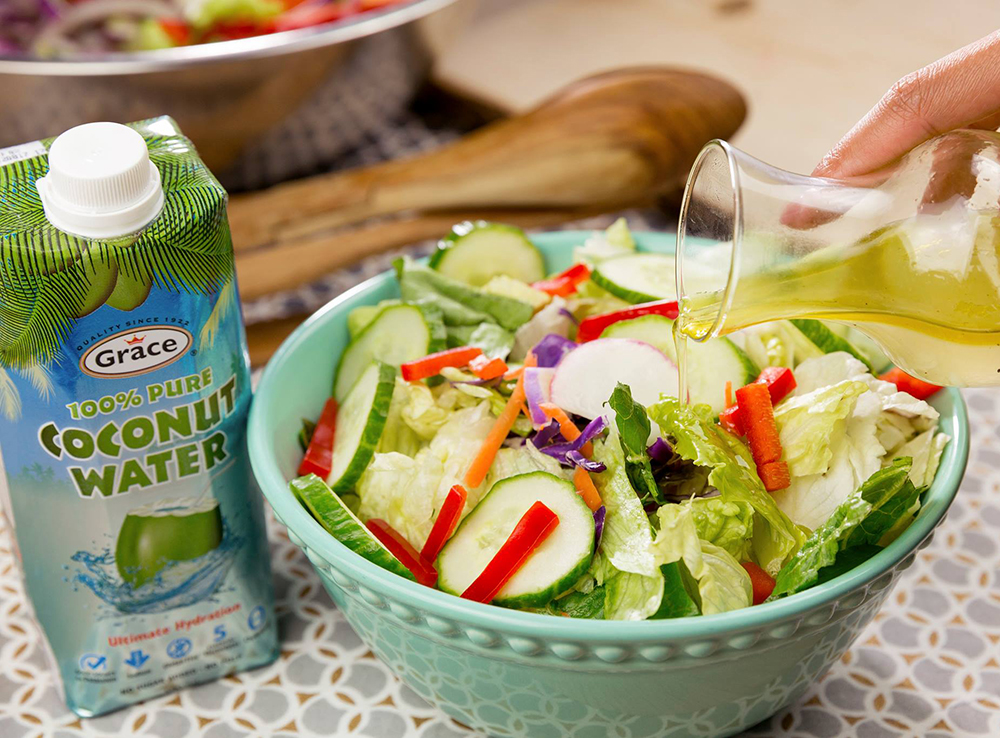 Salad Dressing with a Difference
