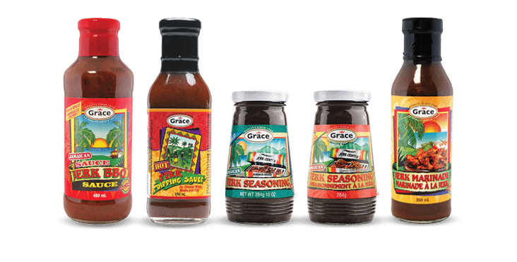 grace jerk seasoning sauces