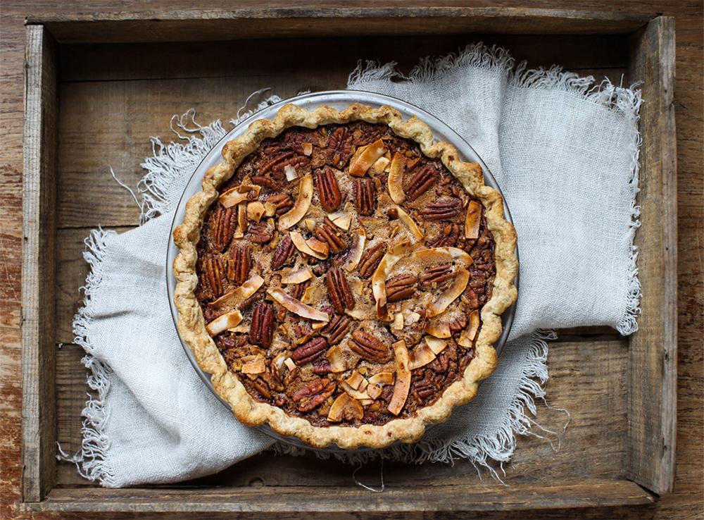Marmalade Pecan Pie