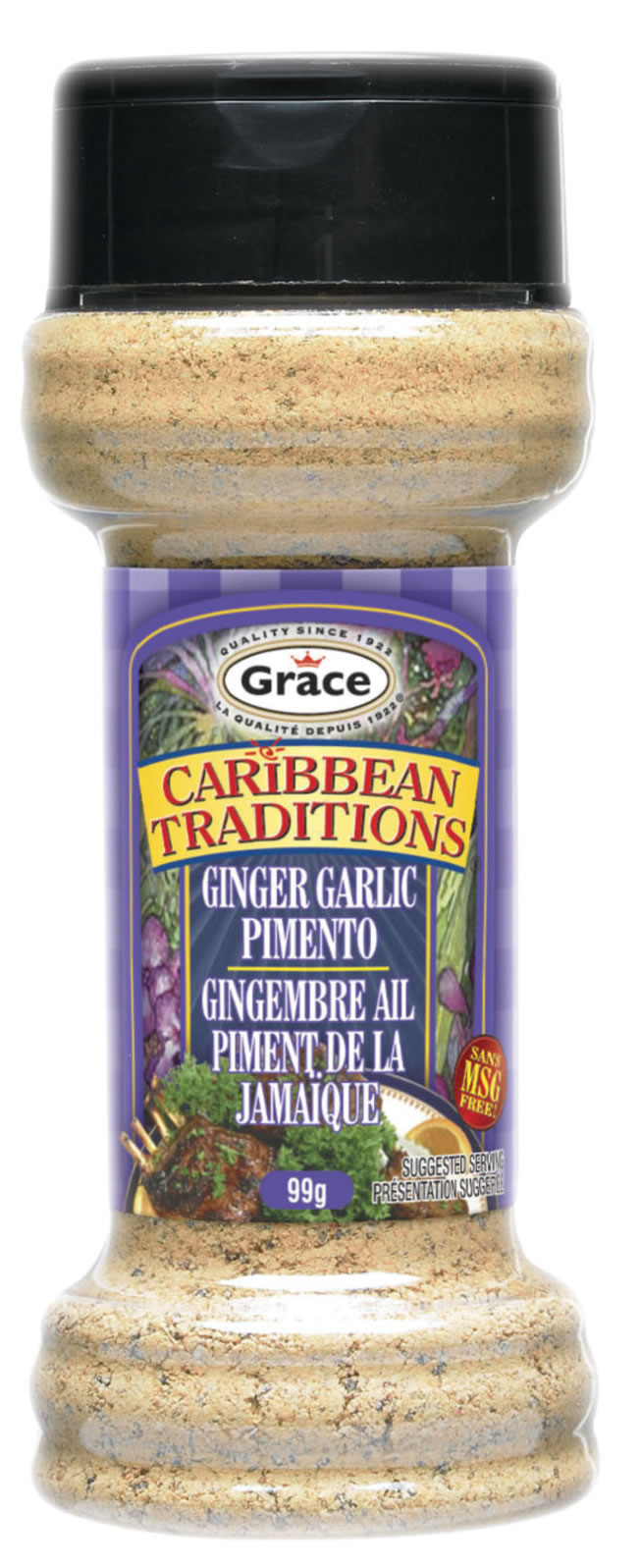 grace carribean ginger garlic pimento spice