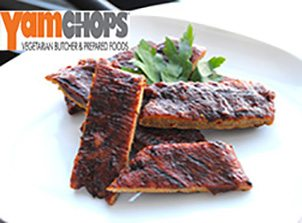 BBQ Seitan Yamchop Ribs